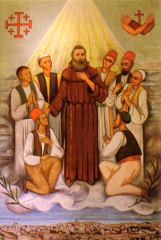 Salvatore Lilli and 7 Companions (beatification banner)