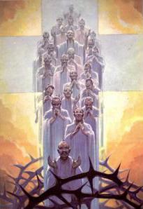 Siméon-François Berneux and 23 Companions (beatification banner, 06 October 1968)